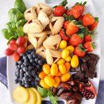 Easy Purim Dessert Platter