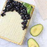 Creamy Avocado Cheesecake