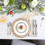 3 Beautiful Table Settings for Rosh Hashanah